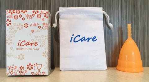 iCare Menstrual Cup Size 2 Orange
