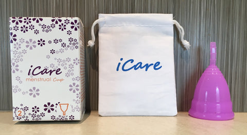 iCare Menstrual Cup Size 2 Purple-pink