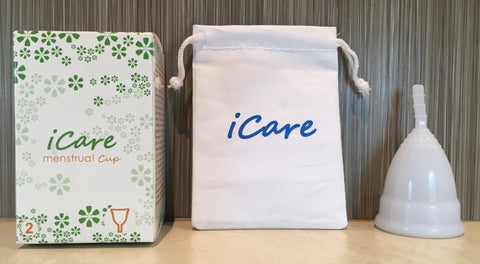 iCare Menstrual Cup Size 2 White
