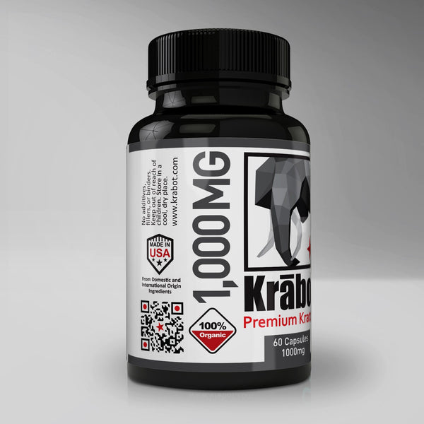 Premium Yellow 1000mg Capsules - Krabot