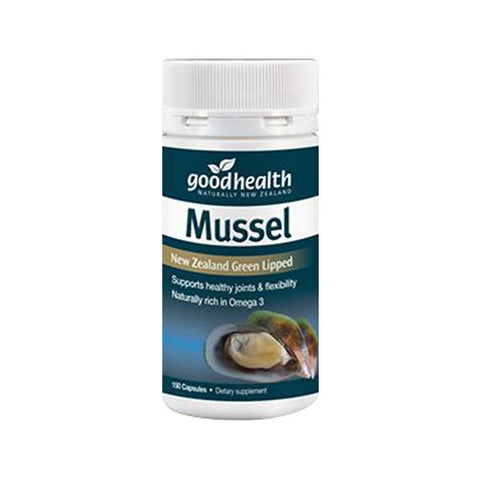 Good Health Green Lipped Mussel 150cap
