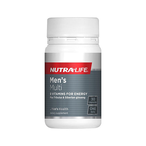 Nutra-Life Men's Multivitamin 30tab