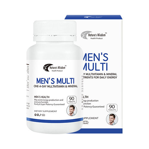 Nature's Wisdom Men's Multi 90tab