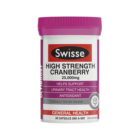 Swisse Ultiboost High Strength Cranberry 25000mg 30cap
