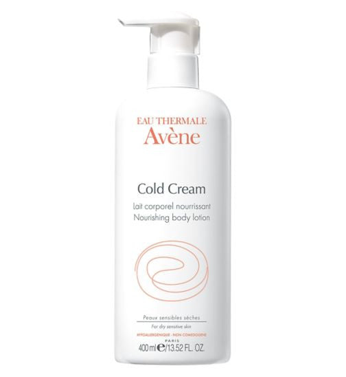 Avene Cold Cream body lotion 400ml - SafwanShop