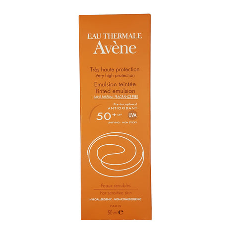 Avene Tinted Emulsion 50ml - SafwanShop