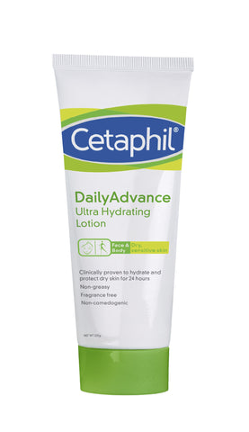 Cetaphil Daily Advance Ultra Hydrating 225gm LO - SafwanShop