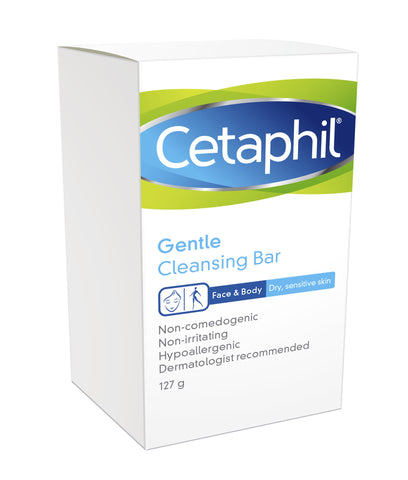 Cetaphil Gentle Cleansing Bar 127g - SafwanShop