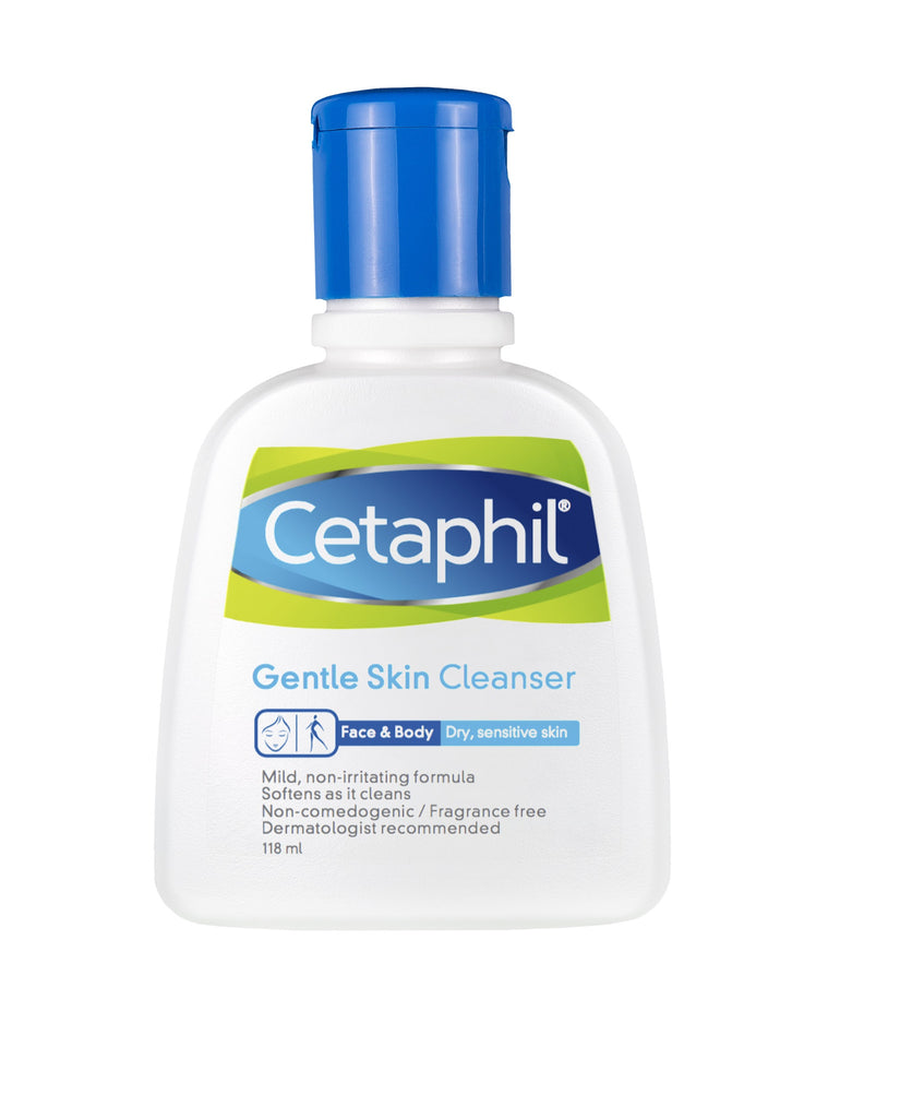 Cetaphil Gentle Skin Cleanser 118ml - SafwanShop