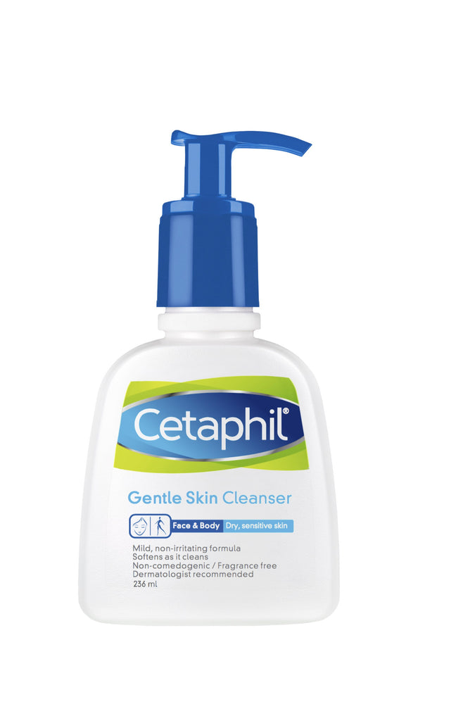 Cetaphil Gentle Skin Cleanser 236ml With Pump 8OZ - SafwanShop