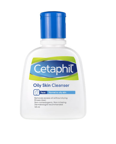 Cetaphil Oily Skin 125ml Cleanser - SafwanShop