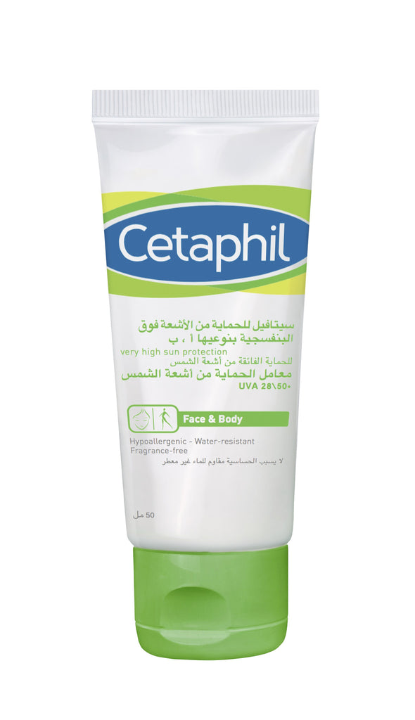 Cetaphil UV Cream 50mlX29 (SPF 50+/UVA 28) 50ml - SafwanShop