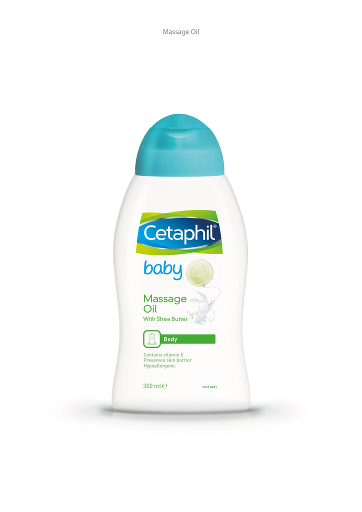 Cetaphil Baby Massage Oil 300ml - SafwanShop