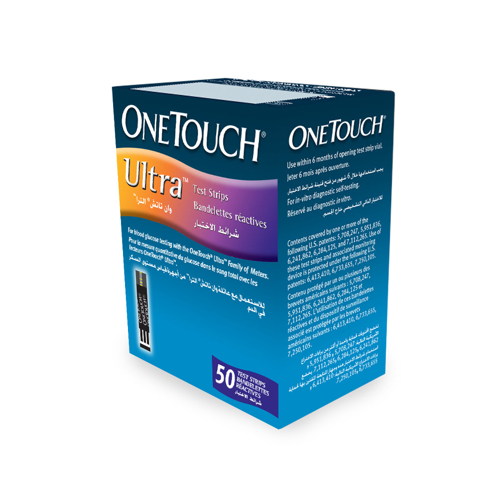 OneTouch Ultra® test strips -50's