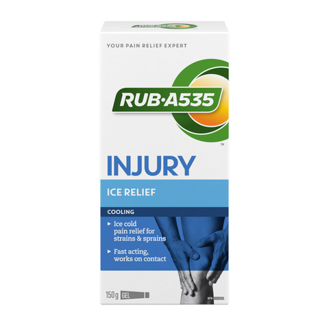 "RUB-A535 ""INJURY ICE RELIEF COOLING"""