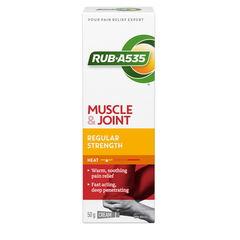 "RUB-A535 ""MUSCLE & JOINT REGULAR STRENGTH HEAT"""