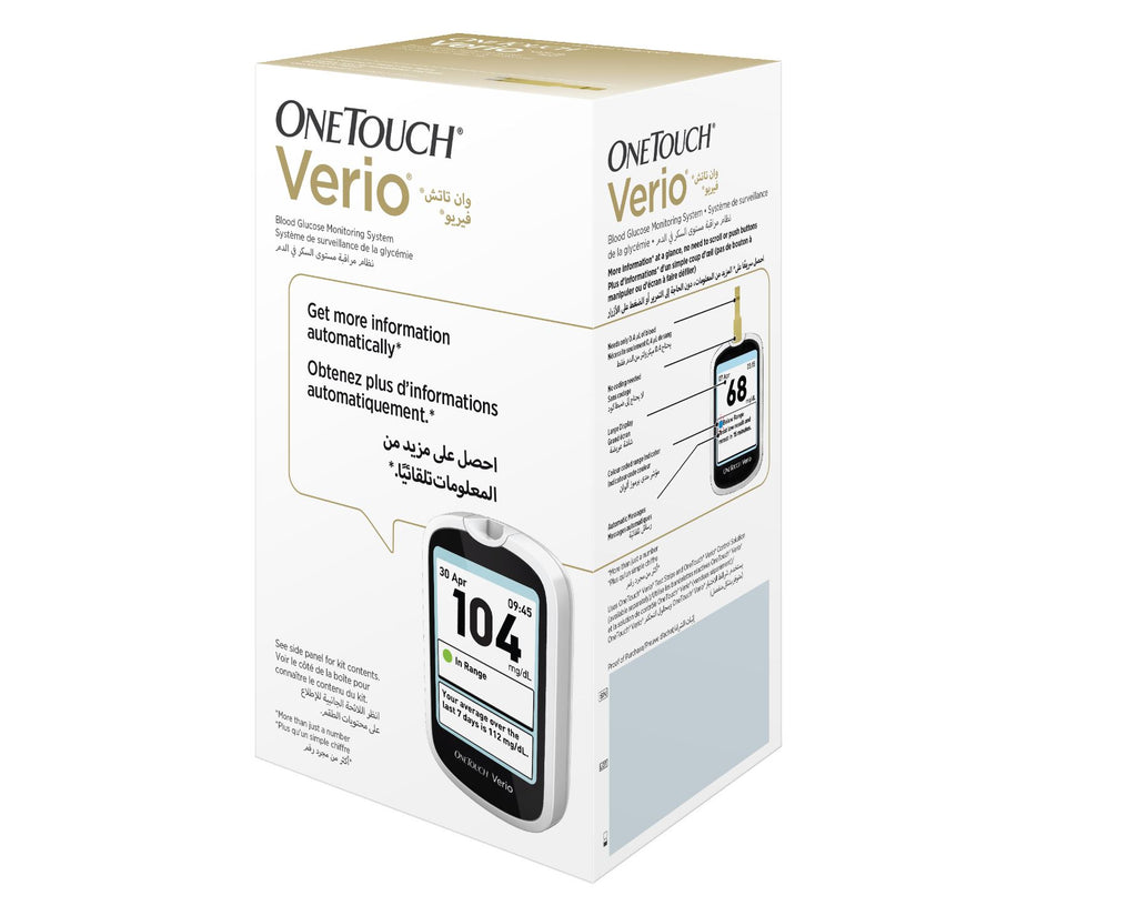 OneTouch Verio offer ( Machine  + 100 verio strips)