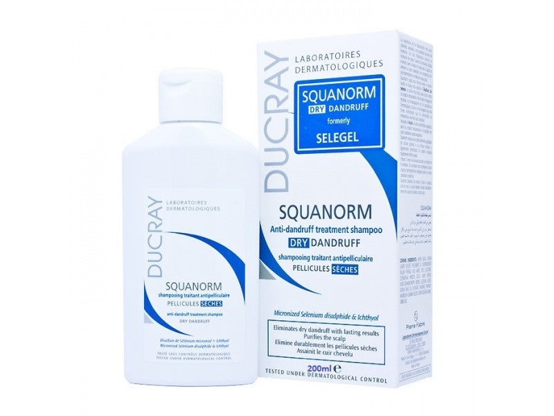 Ducray Squanorm Dry Dandruff Shampoo - SafwanShop