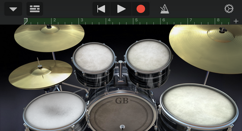 Garage Band iOS