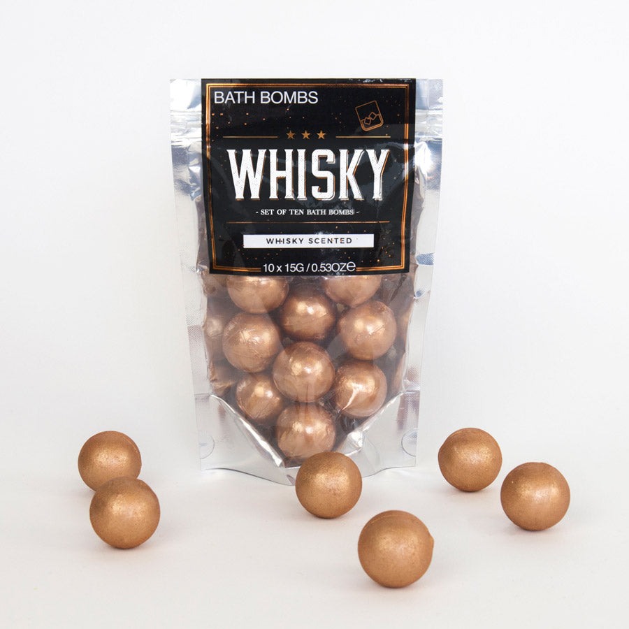 WHISKEY BATH BOMBS