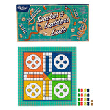 SNAKES AND LADDERS & LUDO SET