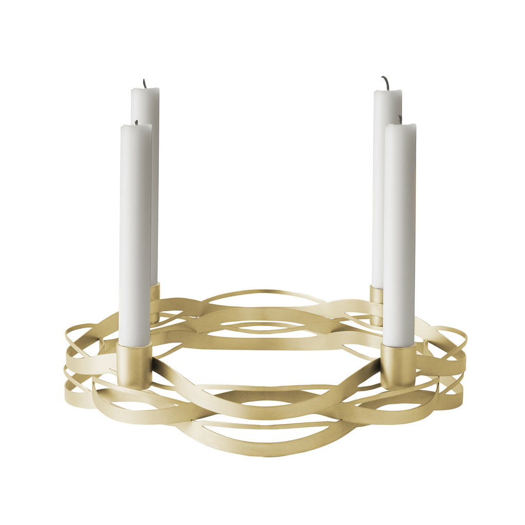 STELTON TANGLE ADVENT CANDLEHOLDER
