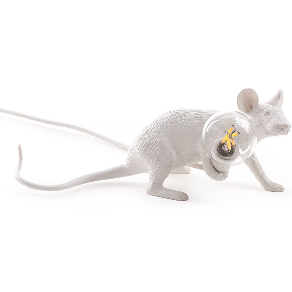 MOUSE LAMP WHITE