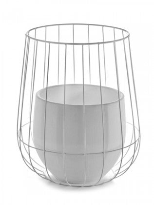 POT IN CAGE
