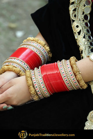 Best Punjabi Bridal Chura Online At Low Price Shop Now