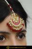 Kehara Rubby Kundan Tikka | Punjabi Traditional Jewellery Exclusive