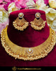 Antique Gold Finished Pearl Johda Necklace Set  | Punjabi Traditional Jewellery Exclusive