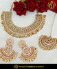 Kundan Pippal Patti Pearl Necklace Set & Passa | Punjabi Traditional Jewellery Exclusive