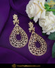Gold Finished Jadau Pearl Earrings | Punjabi Traditional Jewellery Exclusive