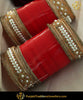 Red Pearl Traditional Bridal Chura | Punjabi Traditional Jewellery Exclusive