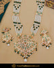 Gold Finished Choker & Rani Haar Jadau Necklace Set | Punjabi Traditional Jewellery Exclusive