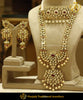 Rubby Kundan & Pearl Rani Haar With Choker Necklace | Punjabi Traditional Jewellery Exclusive
