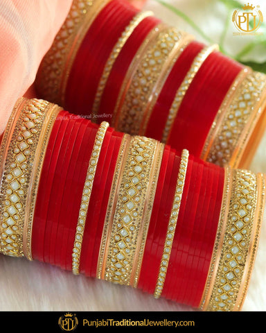 Punjabi Bridal Chura - New Design Bridal Chura Best Price