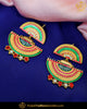 Hand Painted Multi Earrings| Punjabi Traditional Jewellery Exclusive