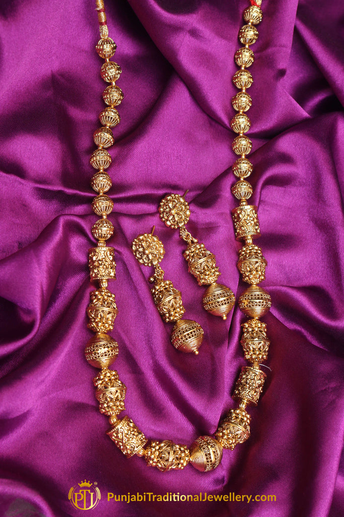 Mala Jodha Necklace Set By Punjabi Traditional Jewellery