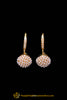 White Bali Pearl Earrings By Punjabi Traditional Jewellery