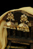 Rani Jadau & Jhumki Earrings By Punjabi Traditional Jewellery