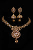 Kasba Polki Necklace Set By Punjabi Traditional Jewellery