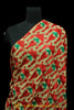 Red & Green Color Pure Phulkari Dupatta By Punjabi Traditional Jewellery