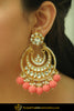 Akifah Gajari Kundan Earrings | Punjabi traditional Jewellery Exclusive