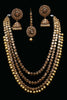 Kundan Necklace Set By Punjabi Traditional Jewellery