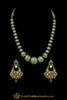 Green & Firozi Jodha Mala Necklace Set By Punjabi Traditional Jewellery
