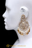 Kundan Pippal Patti Earrings By Punjabi Traditional Jewellery