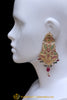 Multi Jadau Earrings By Punjabi Traditional Jewellery