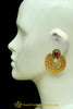 Gold Plated Earrings By Punjabi Traditional Jewellery