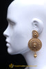 Antique Gold Earrings By Punjabi Traditional Jewellery